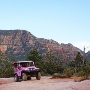 Take the Pink Jeep Tours in Sedona This Fall