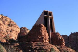 Visit the Chapel of the Holy Cross in Sedona This Winter