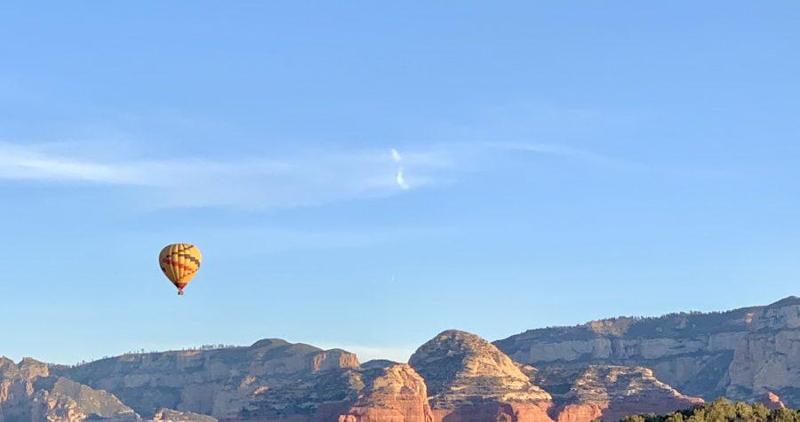 Take a Sedona hot air balloon ride this winter